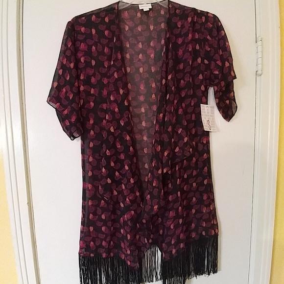 fcb24ba2e9 LuLaRoe Sweaters | Nwt Monroe Kimono S Sz 012 | Poshmark